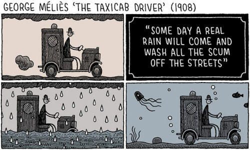 The Taxicab Driver by tom gauld on Flickr.