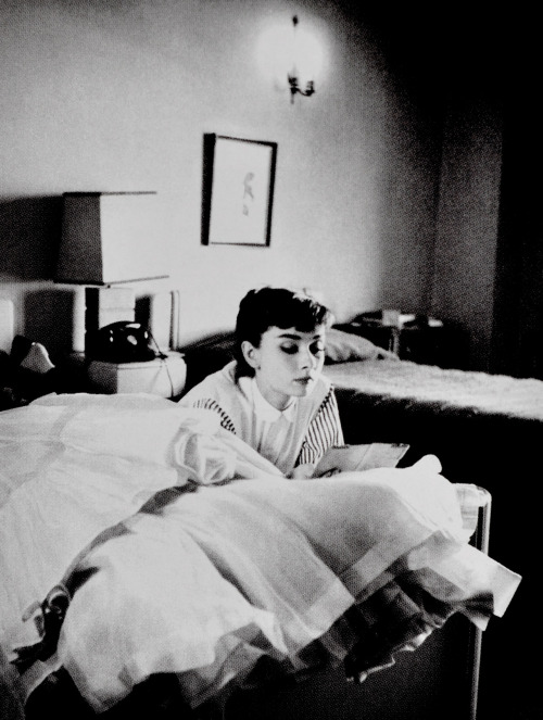 Audrey Hepburn photographed by Bob Willoughby, circa 1954