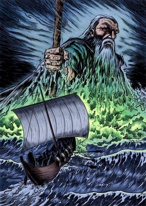 fuckyeahvikingsandcelts:  Ægir, in Norse Mythology he is the sea giant, god of the oceans and king of the sea.