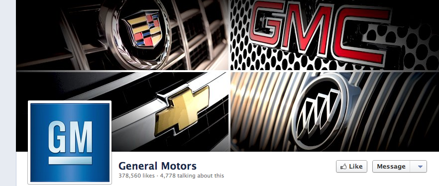 "General Motors isn't making the wrong choice by cutting its Facebook ads, they are making the wrong choice by not changing their entire Social Media Strategy. This isnt personal, this is just an analysis of why the 10 million dollar Facebook spend wasn't generating results. (I am working on a series of posts which cover growth strategies and correlating Social Media Metrics that serve as more than vanity metrics to address this in more detail.)… I digress  The auto industry, generally, is getting social media wrong for their type of product and their growth engine. Rather than communicating how features are benefits, the auto industry should be thinking lifestyle branding. (I have data that supports this, but I'm not going to give it away at this time) THE BIG PROBLEM: The auto industry is ignoring ""the why"". ""The why"" is the most important question anyone with a message can ask, there are many whys but ""the big why"" sounds something like this: Why are people on this medium?  Its cousin sounds something like this:  Why are people interested in what we have to say on this medium? Why's are easy to skip, and they seems silly to ask, but communication teams that are willing to ask these question are miles ahead. Why do people follow General Motors on Facebook? Its not because of an ad that says our trucks are best, its because of a personal connection. Vehicles are lifestyle brands, a car is a big purchase most people make once every 5 years. The stronger the brands tie to a persons core beliefs the stronger the brand affiliation. Good feelings = long term sales  (Does anyone else see content strategy for at least 7 of their vehicles, I do)  Lets look at Chevy Silverado— A GM brand that could easily burn through a Million bucks a month on sponsored stories alone…  So Q1: Why are people on Facebook? - To connect with people and have fun. (Sorry brands people aren't on Facebook for you) Q2: Why do people like Chevy Silverado on Facebook? This is a little harder but we know its likely males between the ages of 18-34 overwhelmingly in Texas (see image below). People that follow this brand are mostly interested in the truck or own one… Users are would want information to entertain and make their friends laugh, they are hoping for the social benefits (to be first to be the most entertaining).  This page should be a bastion of manhood and girls who play by their own rules (AKA the truck market)   Q3: Are they Hitting the mark?  If you go to the Silverado Facebook page, without question they are missing the target. The posts have an almost feminine tone, and appear to lack a consistent strategy.  I suggest they ask, ""Is this page actually adding any value to people that like it?"" Post #1  Post #2   The first one is fine, but, is it really going to get people to engage?… Is it something that falls in line with a lifestyle brand? The post should be re-imagined from the ground up. A slight change in the copy on the second post would change the tone and be more successful… ""Serve, Honor, Protect, hit ""Share""and join us in support of Military Appreciation Month."" -With this audience dont say it in 5 words if 3 will do. GM should be trying to position vehicles as lifestyle brands. Ford is winning the Social battle because they have personality, GM tried to win it by selling direct. This is all said without even getting into the KPI's that should be guiding budget decisions for media placement. Throwing money at bad strategy says nothing about the networks where the money is being placed ..The lesson GM is teach us, Facebook ads built on bad strategy doesn't work.  GM I hope this helps. I am not knocking anything other than a style guide and suggesting an adjustment to the positioning of the brand on social media."