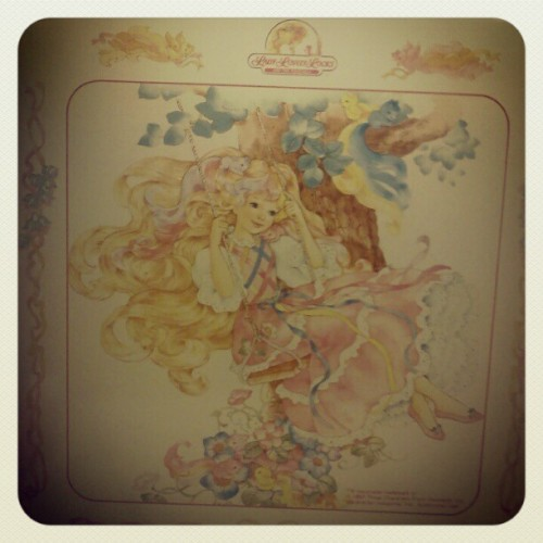 #vintage #80s lady lovely locks metal print (Taken with instagram)