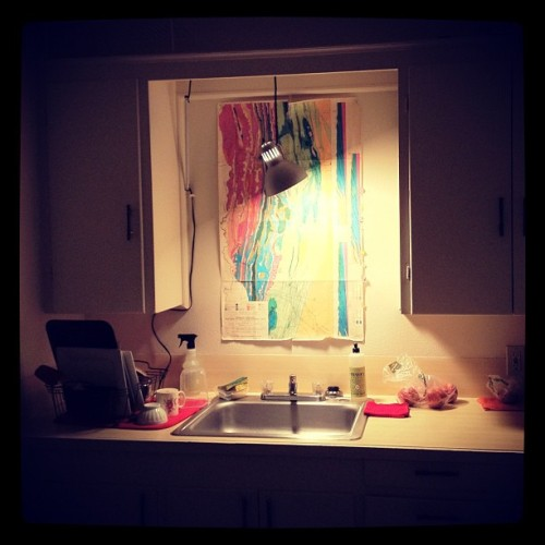 A clean kitchen is a happy kitchen.  (Taken with instagram)
