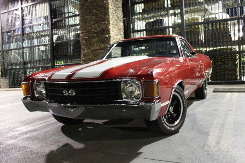 motoriginal:  Theinglourious: My 1972 El Camino Helluva ride there! These are my absolute favorite generation of the El Camino. My uncle used to have one of these and we used to ride in the back all the time, that was back in the '80s when cops could care less. Take good care of it, and thanks so much for the submission!