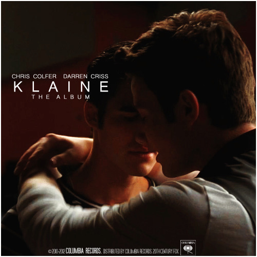 gleekingsongalbums:  Klaine: The Album | Darren Criss & Chris Colfer Requested by bedofdewylilacs
