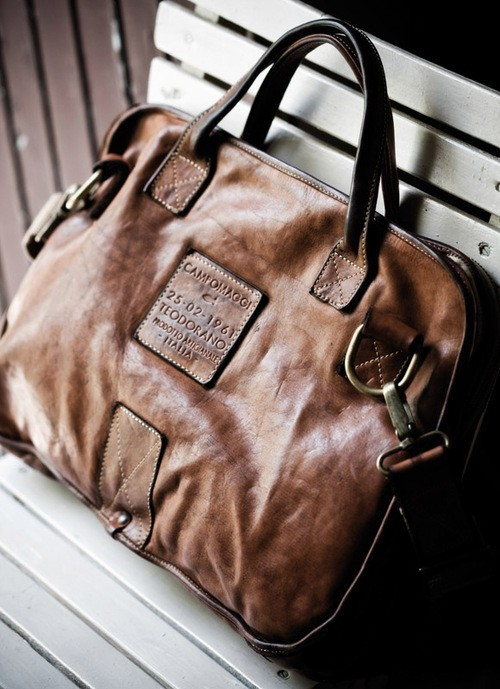 laragosta:  Campomaggi bag - Made in Italy.