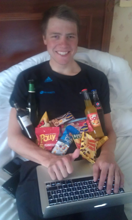 karalala:  HAPPY BIRTHDAY to Edvald! :D (photo from Lars Petter Nordhaug)