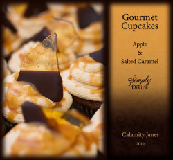 Apple and Salted Caramel Gourmet Cupcakes by stevetoearth on Flickr.