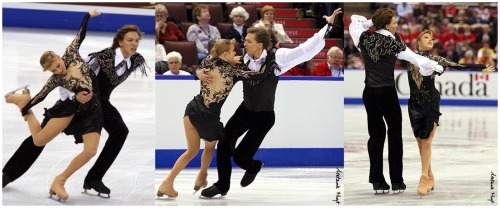 Ekaterina Bobrova and Dmitri Soloviev skating their Paso Doble compulsory dance at the 2008 Skate Canada. Sources: http://davecskatingphoto.com/photos/2008skatecanada/dance/IMG_3437a.jpg http://photography.ice-dance.com/2008-2009-season/2008SkateCanada/Dance/CD/