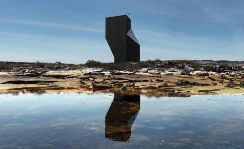 Fogo Island artists' studios by Saunders Architecture