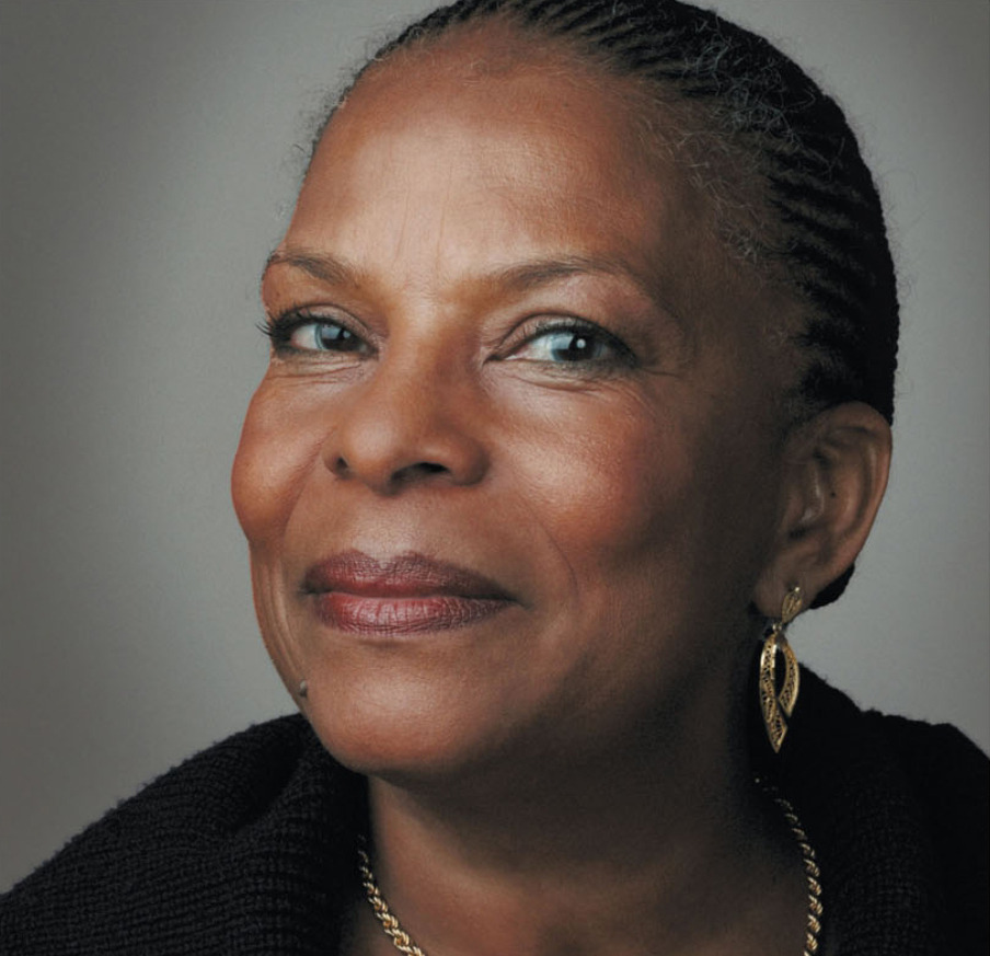 uutokk:  Christiane Taubira (born 2 February 1952, Cayenne, French Guiana) is a French politician, and, from May 15, 2012, the Justice minister in the new Ayrault government, under President Hollande. Christiane Taubira gave her name to the 21 May 2001 law which recognizes the Atlantic slave trade as a crime against humanity.