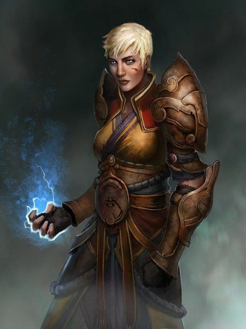 Diablo 3: Monk Fan Art