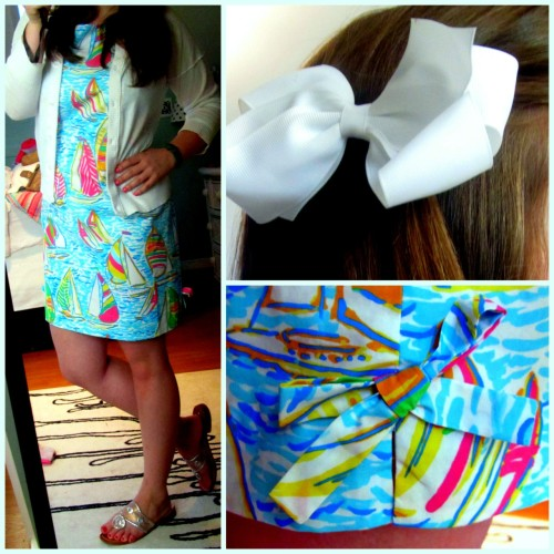 rva-preparatory:  OOTD: Bows on bows on bows