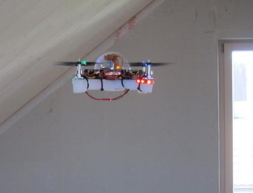 Got a Quadpod to practise multirotor flying. Setting up seemed easy, but problems with the motors kept me from a successful maiden flight. Thanks to the help from the manufacturer these problems have been solved and this multirotor is now flying.