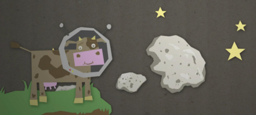 Space Cow by Chog Zoo Animation.