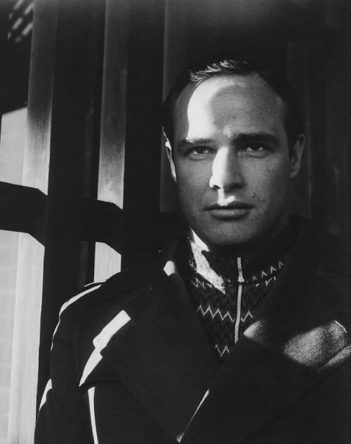 theniftyfifties:  Marlon Brando by Cecil Beaton, 1954.