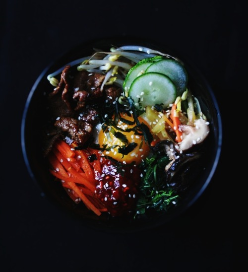 Bibimbap (비빔밥) / Korean Mixed Rice