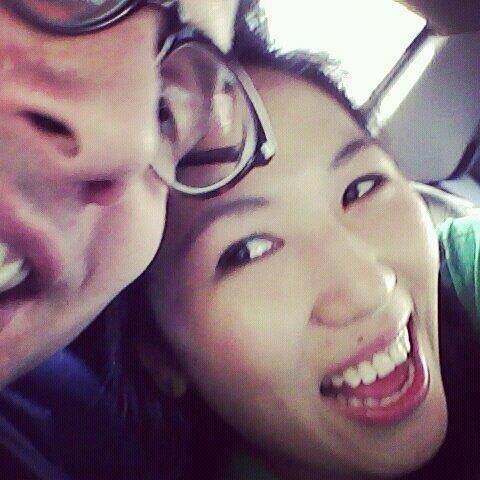 First cab ride as a married couple from City Hall on 5/11!!!! :D