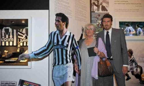 Mariella Scirea opens her husband's section of the new Juventus Museum