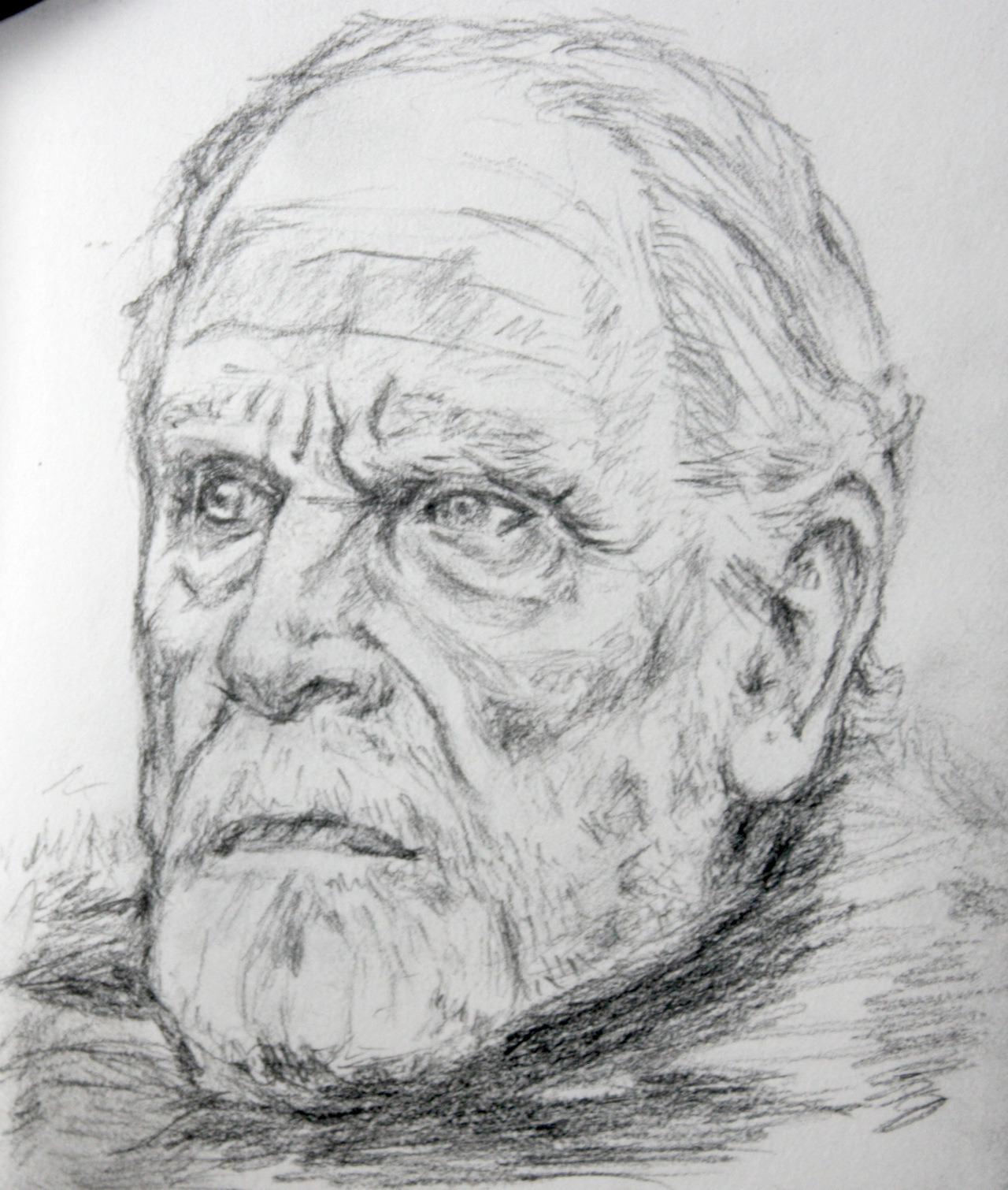 Lord Commander Mormont as portrayed by James Cosmo  Print available