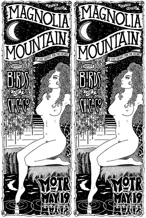 Magnolia Mountain is at MOTR Pub in Cincinnati Saturday night with Birds Of Chicago.   Sample tracks from Magnolia Mountain's brand new record Town & Country.    Vinyl / CDs for T&C and the rest of the Mag Mt catalog - < http://magnoliamountain.net/merch.htm > Digital coming soon via This Is American Music < http://thisisamericanmusic.com/ >