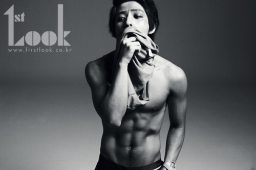 Kibum for 1st look. The man looks good. Yum~