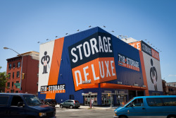 Storage Deluxe commercial sign job