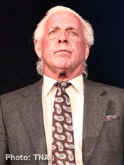 Word is that TNA and Ric Flair are having major issues. Apparently Flair has no showed live events. It was obvious something weird was going on when Flair no showed a Gut check. Both sides have been quiet on the matter. Maybe Flairs trying to go back to the WWE?