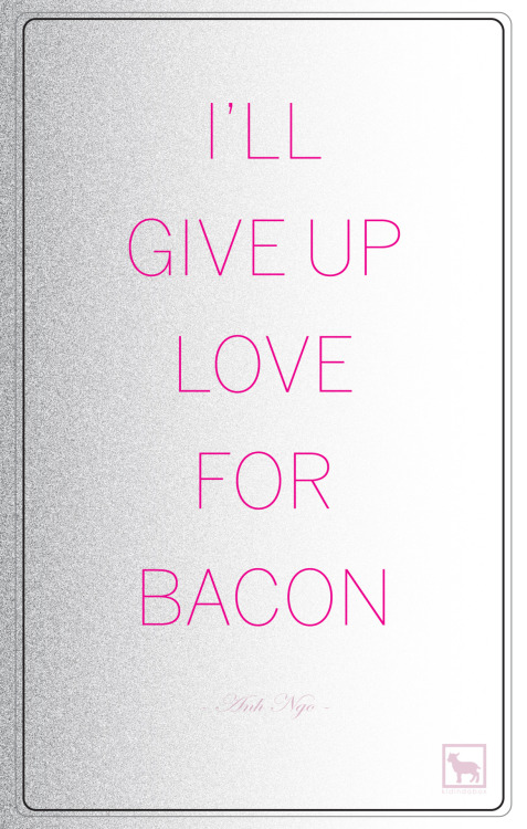 Bacon & Love