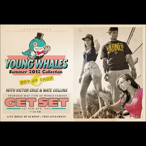 It's going today! Looking forward to kickin with my @youngwhales family and helping throw a great event! @teamvic @bign98 @jaeboogz @dirtyjax — should be a blast! Come through, show love! (Taken with instagram)