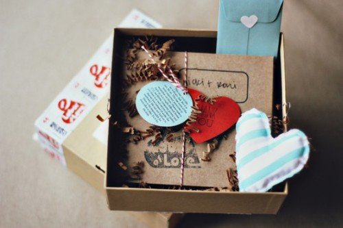 Cute invitation box