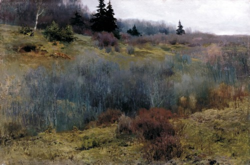 blastedheath:  jaredshear: Alexei Stepanov Autumn Oil on canvas