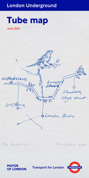 somethingchanged:  Tracy Emin's Tube Map.