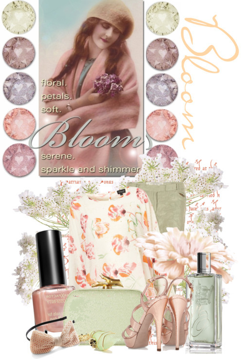 Bloom With Spring Colors by queenrachietemplateaddict featuring a guerlain perfume