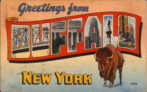 buffaloblog:  Greetings from Buffalo NY!