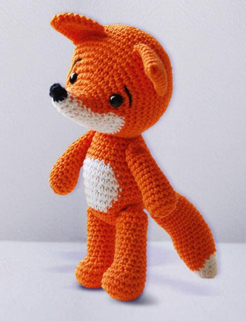 Little Fox Amigurumi : Amigurumipatterns Amigurumi pattern for Lisa the fox by ...
