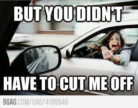 (via 9GAG - Gotye in traffic)