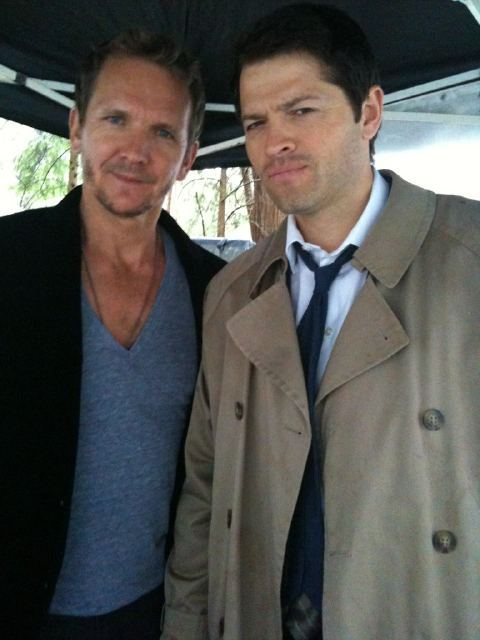 05 Favorite Co-Stars 5) Sebastian Roché & Misha Collins On the twitter pictures alone these two could have claimed this spot. Mostly though they made me laugh during a very painful time in Supernatural history and for that I will always be grateful. I have to say if you don't find these two funny you need to make sure you were dragged out hell with your soul.