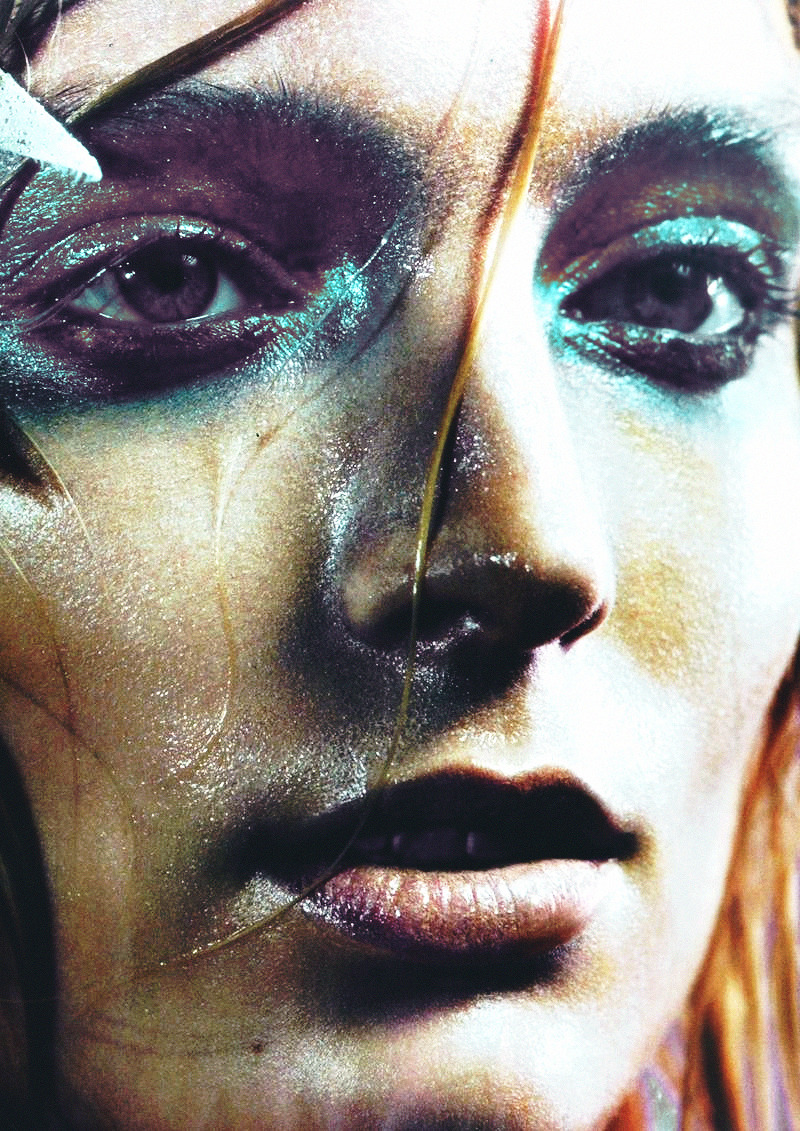 Melissa Tammerijn By Michelangelo Di Battista For Vogue Italia Beauty, May 2012
