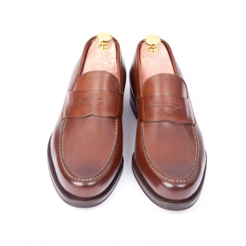 Sid Mashburn Italian Penny Loafer British Tan