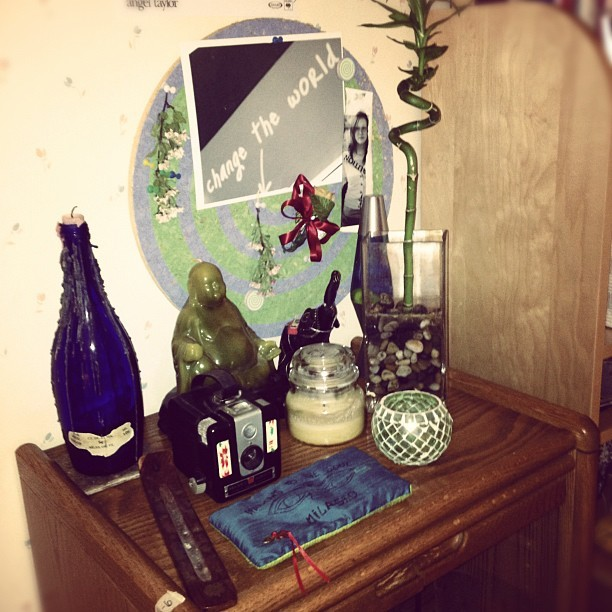 Bedside table (Taken with instagram)