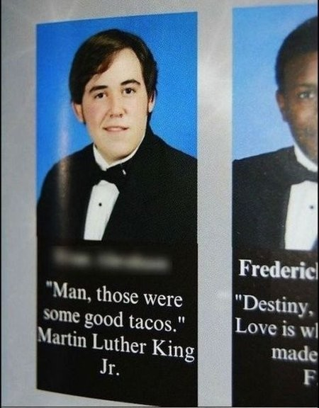 "10 More of the Greatest Yearbook Moments of All Time Another round of nominees for ""Most Likely to be Awesome."""