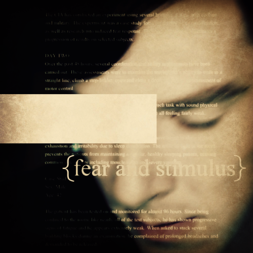 "offlineinternet:  ""Fear and stimulus""
