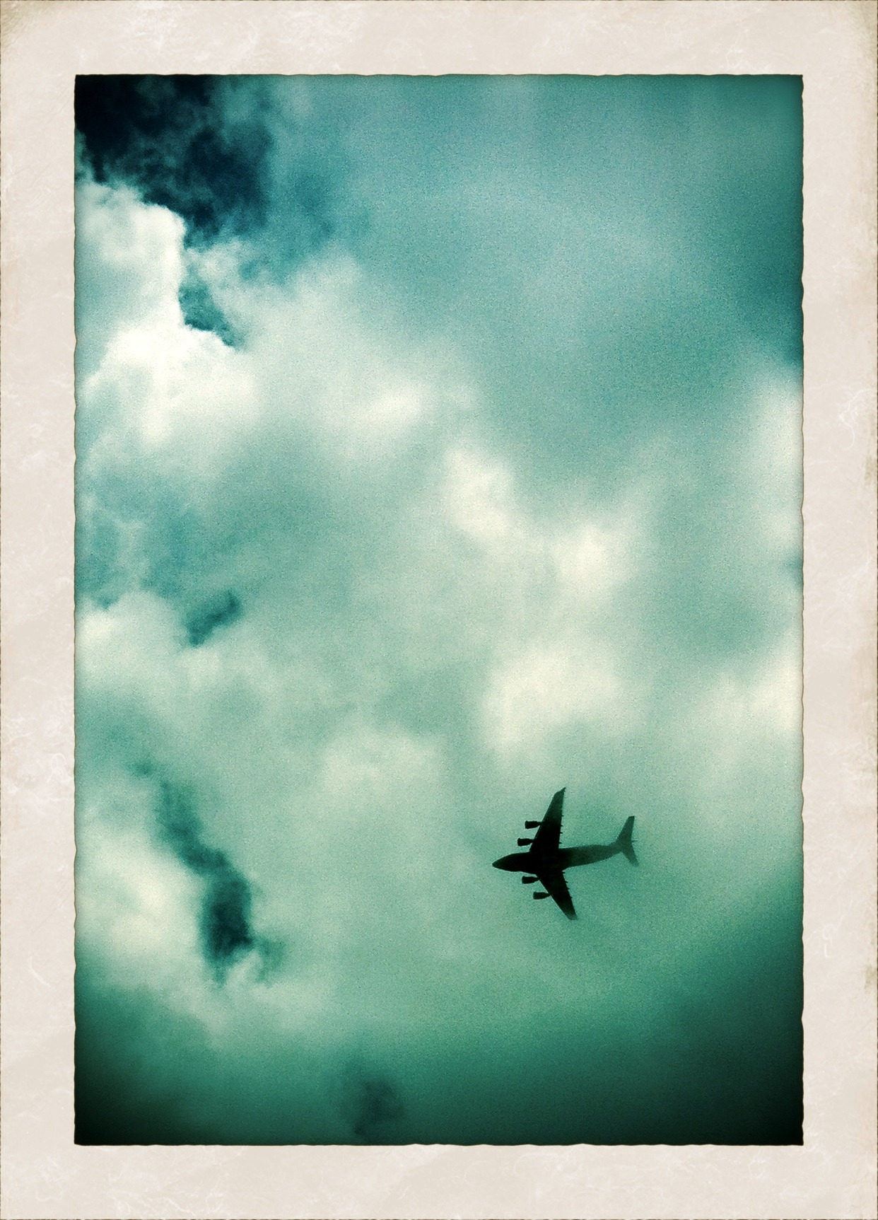 Can we pretend that airplanes in the night sky are like shooting stars? (photo by me: the citadel, south carolina)