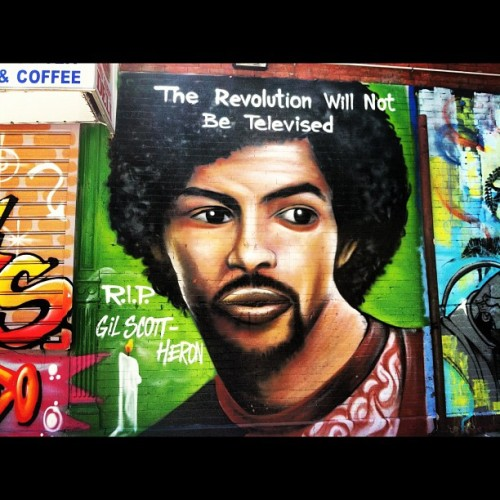 #mural #art #nyc #gilscottheron #rip (Taken with instagram)