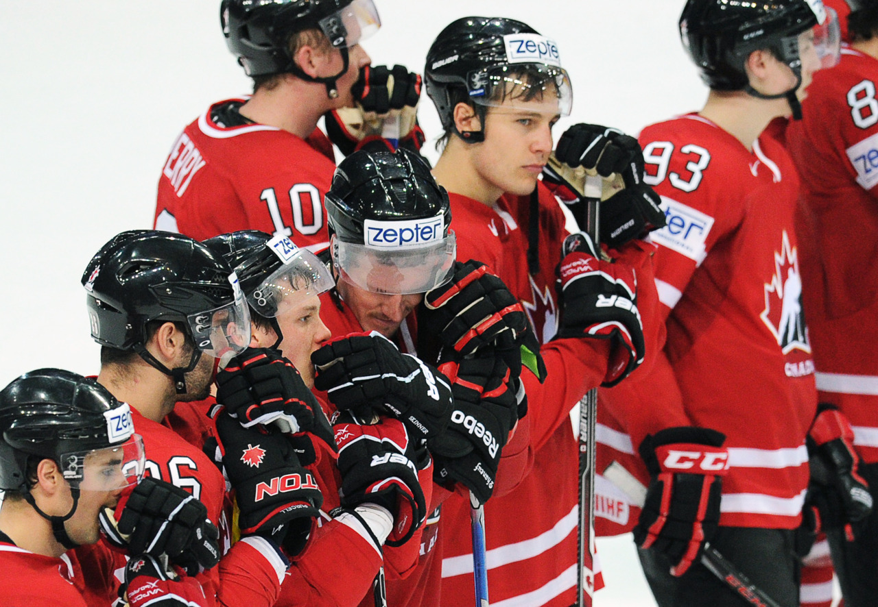 "The IIHF World Hockey Championship ended in agony once again for Canada.""It's deja vu,"" general manager Kevin Lowe said after a 4-3 quarter-final loss to Slovakia on Thursday.It's the first time in history Canada has made an early exit from the tournament on three straight occasions. The country also suffered quarter-final losses in 2010 and 2011.""It hurts like hell right now,"" said captain Ryan Getzlaf. ""I feel like I let the guys down. To be in a hard-fought game like that and play the tournament we did and lose in that fashion, it's not easy to swallow as a group.""The guys worked way too hard to be delivered something like that."""