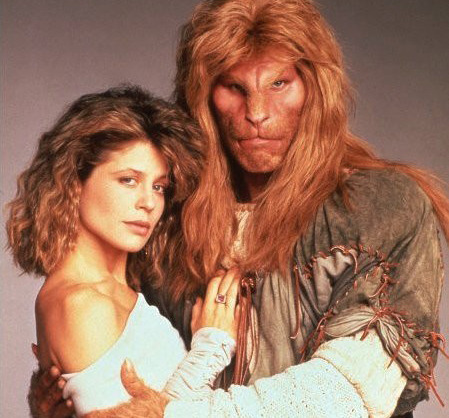 "The definition of ""beast"" sure has changed. Beauty and the Beast 1987 vs. 2012. Not for nothing, but I was totally in love with Ron Perlman's Vincent back in the day, he didn't need to look like a Calvin Klein model."