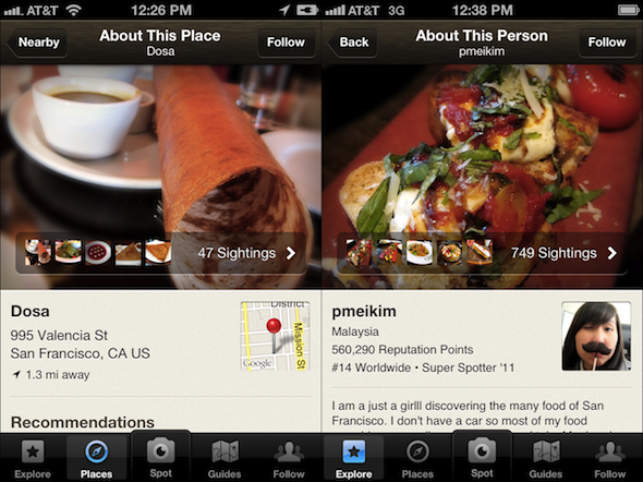 Excited to unveil the latest, greatest Foodspotting! Introducing Foodspotting 3.5: Your Personal Picture Menu Get our free app for iPhone, Android and Windows Phone foodspotting.com/apps