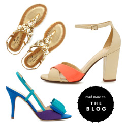 feet first: see our summer shoe guide to help you find the perfect pair for every event on your calendar this season on our blog: http://bit.ly/L2YrHk