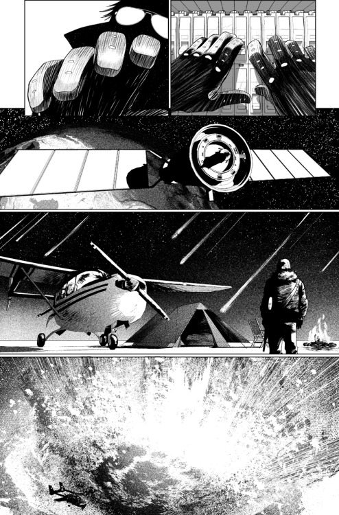 brianwood:  The Massive #2, page 8, by Kristian Donaldson