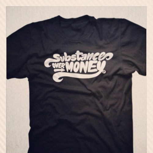 """Substance"" on SALE now! Check out thecoolercollective.com for the sale. #thecooler #sale #tshirts #design (Taken with instagram)"